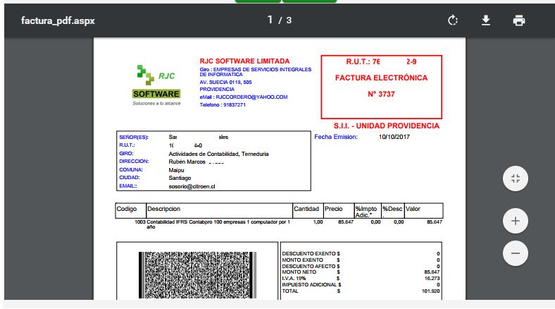 Boleta Electronica Pro Desde 1001 A 5000 Dte 1 Usuario